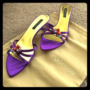 Sergio rossi Shoes - NIB Sergio Rossi kitty heel
