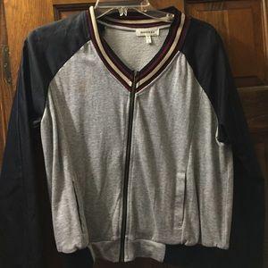 Jackets & Blazers - Grey and black jacket