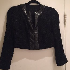 Alexander Wang Jackets & Blazers - Alexander Wang • cropped woven jacket