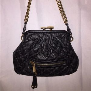MARC JACOBS mattelese quilted leather shoulderbag