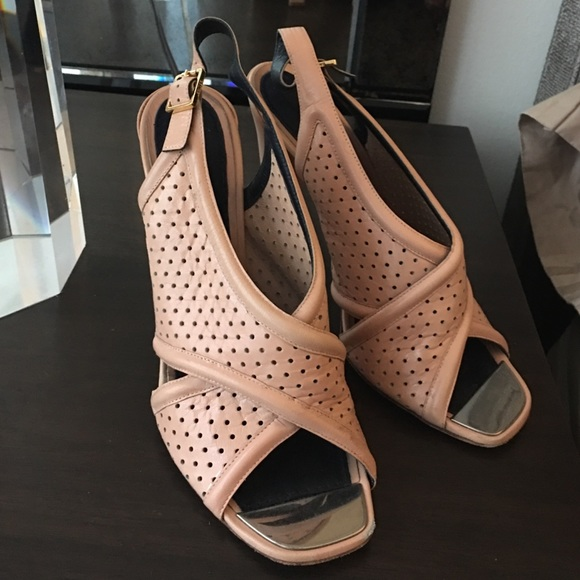 Celine Paris Tan Heels