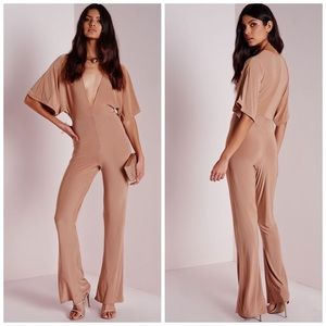 NWT Missguided Slinky Jumpsuit