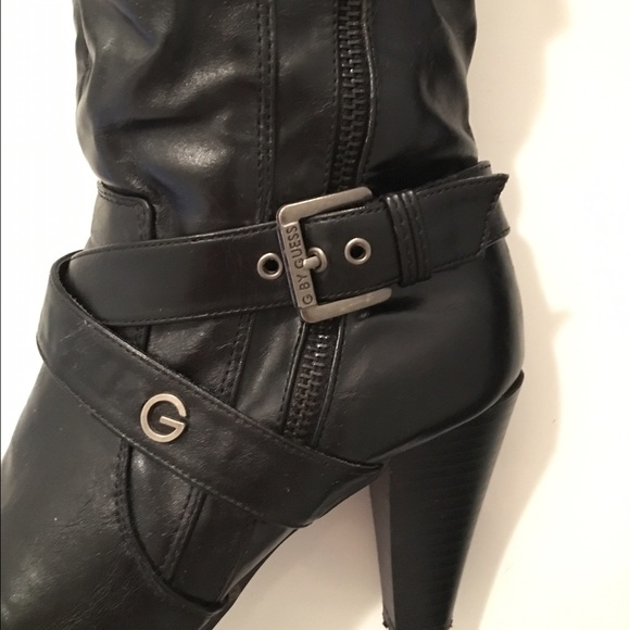 50 guess shoes guess faux leather boots from