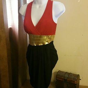 Dresses & Skirts - NEW! Asymmetrical dress size Small