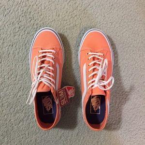 Old Skool Peach Vans