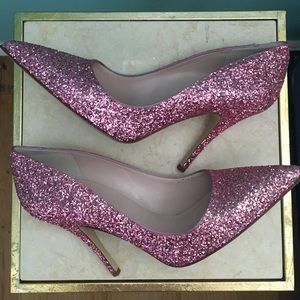kate spade Shoes - Kate Spade Glitter Heels