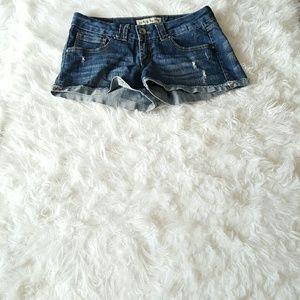 Paris Blues Pants - SHORTS