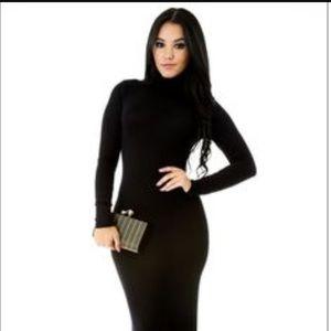 Dresses & Skirts - Black Long Tube Dress