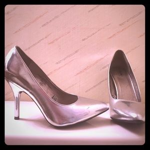 Massimo Dutti Shoes - Silver heels