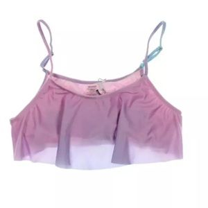 Wildfox Other - NWT💠Wildfox Purple Cropped Ruffled Ombre