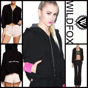 Wildfox Sweaters - ❗1-HOUR SALE❗WILDFOX HOODIE Balance Body Mind