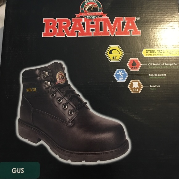 f61bccc3e21 Brahma Steel Toe Boots Boutique