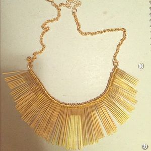 Accessories - Gold statement necklace