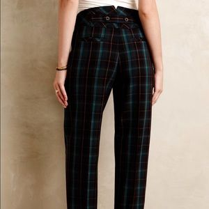 Anthropologie Pants - Cartonnier plaid pants