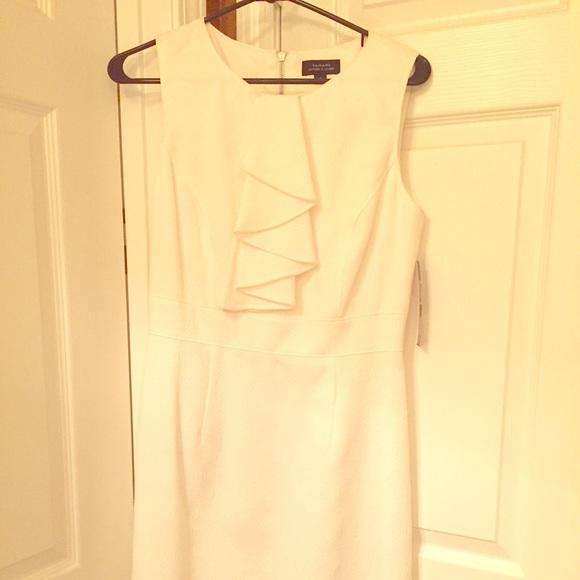 449c4783d81 Size 6 Tahari white dress from Dillard s
