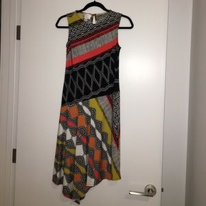 Donna Morgan tribal print dress size 2