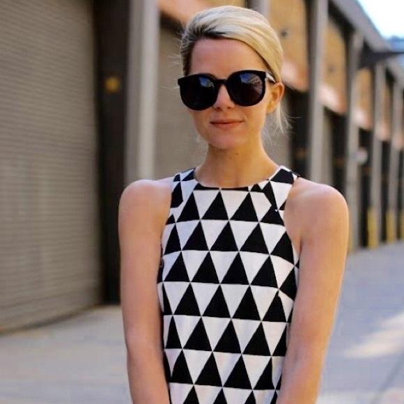 2cbd2452edc8 ASOS Dresses | Triangle Jacquard Shift Dress | Poshmark