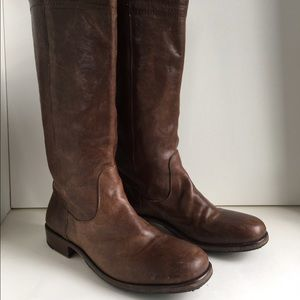Fiorentini + Baker Shoes - Fiorentini +Baker size 10 brown tall boot