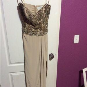 oleg cassini evening dress on Poshmark