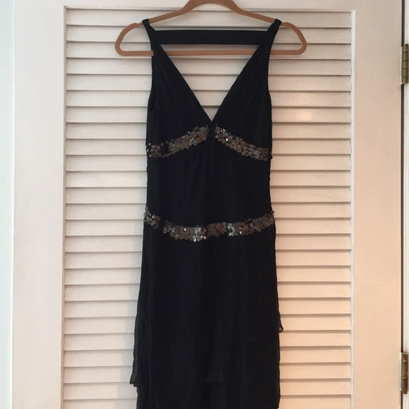 Black Sequin Cocktail Dress Sale 69