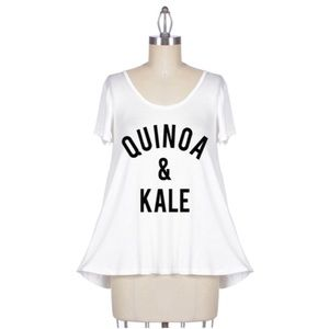 Tops - 1 HOUR SALE!! Quinoa & Kale Top