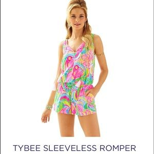 ISO**** Lilly Pulitzer tybee romper