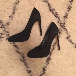 Dolce Vita Shoes - Black Velvet Heels