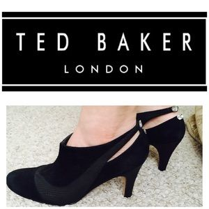 Ted Baker Shoes - Ted Baker Collection Crystal Ankle Cutout  Booties