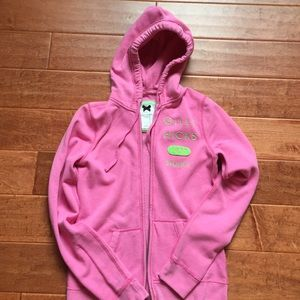 Gilly Hicks pink hoodie with zipper