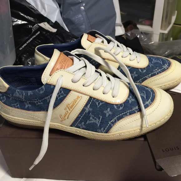 4a65fc44729 Louis Vuitton Monogram Denim sneaker