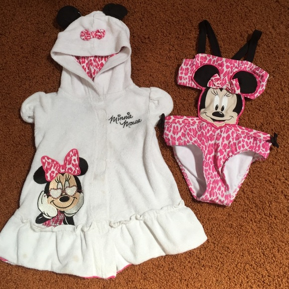 7e3e07d3379b9 Disney baby Other - Minnie Mouse bathing suit and cover up