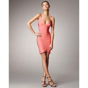 Herve Leger Dresses & Skirts - Herve Leger pink bandage dress