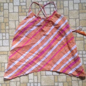 American Eagle Outfitters Tops - Brightly striped summer top