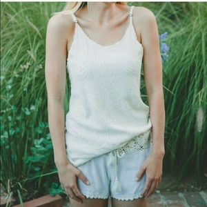 Cleobella Pants - Cleobella crochet shorts