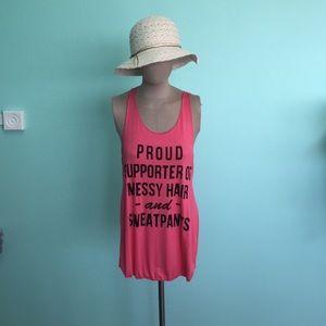 Boutique Tops - Boutique Pink Tank Top🌵