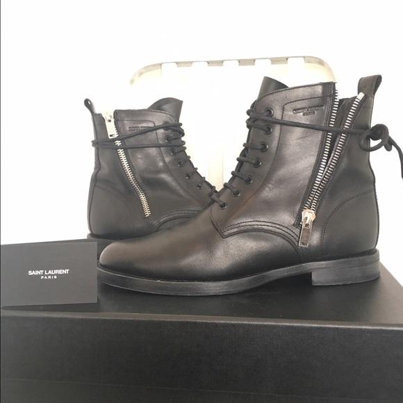 baffe745cf8 Saint Laurent Ranger Zipper Combat Boots. M_572ceb0b36d5942ca40083c5