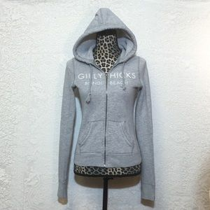 Gilly Hicks Tops - Cozy Soft Zip Up Hoodie!