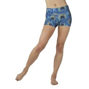 Emily Hsu Designs Pants - Peacock Shorts