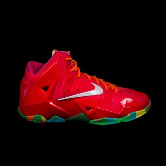 Nike Shoes   Lebron 1 Fruity Pebbles