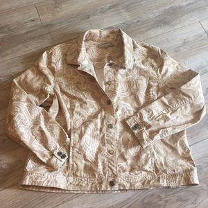 Croft & Barrow Jackets & Blazers - Nice paisley jacket