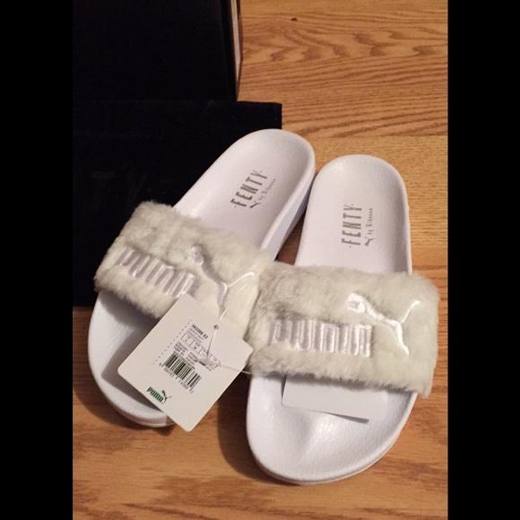 a8368f08b50a58 Rihanna Puma Slippers