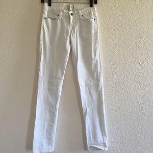 Forever21 White Skinny Jeans