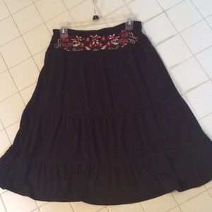 New York & Company Dresses & Skirts - NY & Company Brown skirt size small fits like s/m