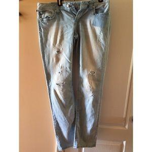 Express  Re Rock Light-wash Jeans