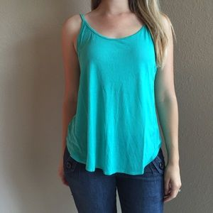 Teal Swing Cami Top