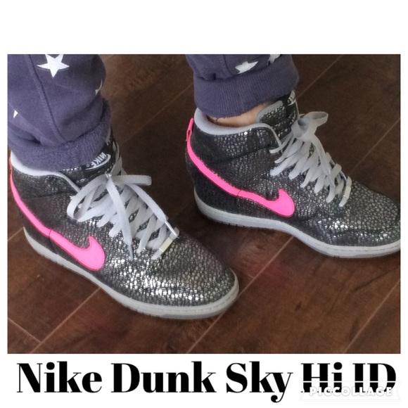 Lowest💥Nike ID Dunk Sky Hi Snake Metallic ed5eff42d