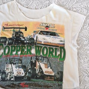 vintage race tee from Brandy Melville