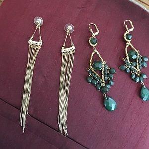 Jewelry - 2 pairs of earrings