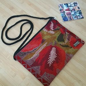 "Ketzali Handbags - Ketzali ""OXIB"" recycled textile crossbody bag"
