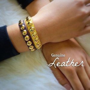 Leather Wrist Bands NEW